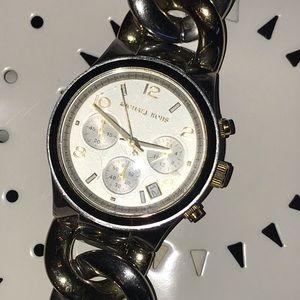 Michael Kors Silver & Gold Bracelet Watch